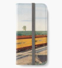 Vintage Denver Colorado Train Railroad Travel Vacation Holiday Advertisement Art Poster iPhone Wallet/Case/Skin