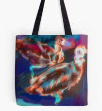 Abstract Duck Tote Bag