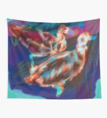 Abstract Duck Wall Tapestry