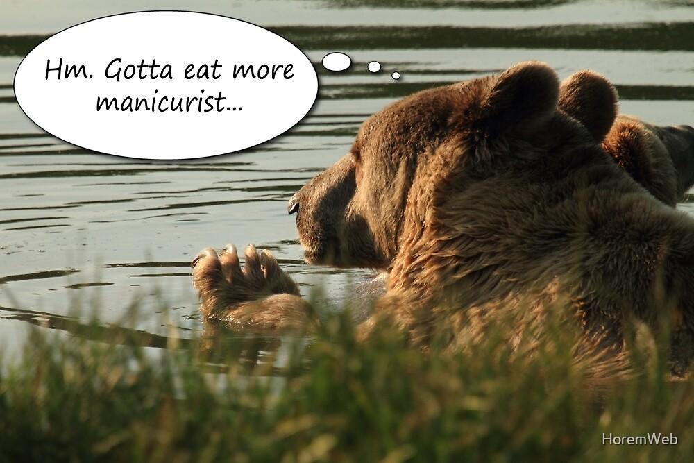 Gotta Eat More Manicurist by HoremWeb