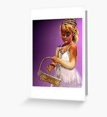 The Flower Girl Greeting Card