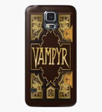 Vampyr Book Case/Skin for Samsung Galaxy