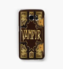 Vampyr Book Samsung Galaxy Case/Skin