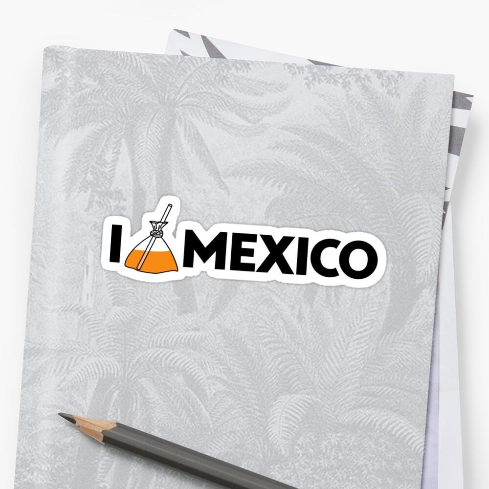 I Love Mexico - Jugo Sticker