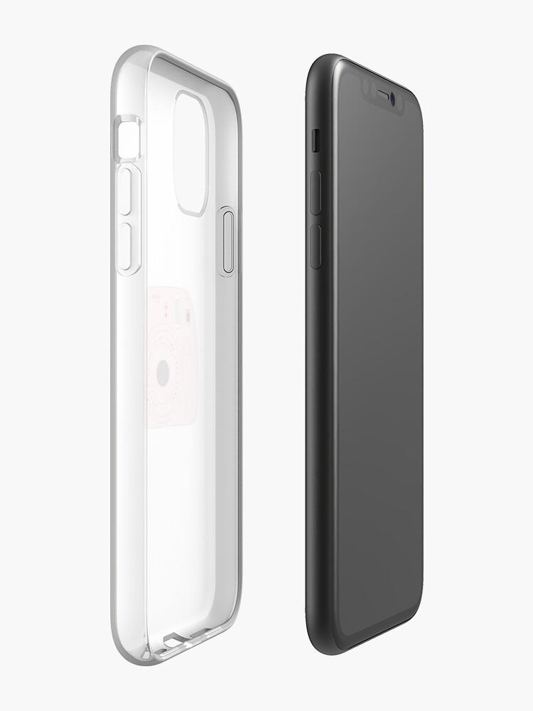 Coque iPhone «Autocollant polaroid», par jennavalentin