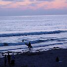 Sunset Surf by Jennifer Chan
