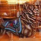 Carousel Lion by Jennifer Chan