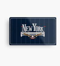 New York Baseball Metal Print