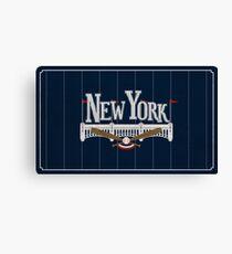 New York Baseball Canvas Print