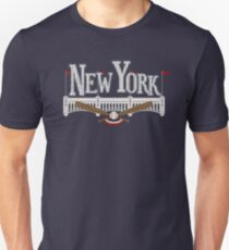 New York Baseball Slim Fit T-Shirt