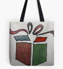 Decorated Christmas Present Tote Bag