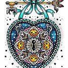 Halloween Locket (White Background) by Ella Mobbs