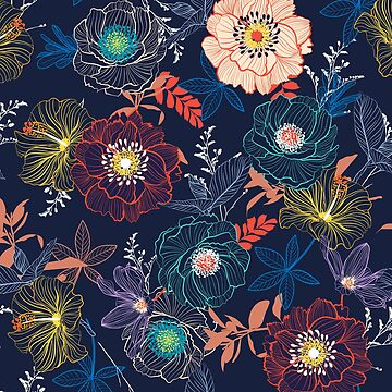 Awesome Floral background by hypnotzd