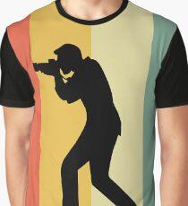 Retro photographer Graphic T-Shirt