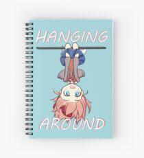 Hanging Around - DDLC Sayori Spiral Notebook