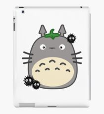 Kawaii Totoro & Susuwatari iPad Case/Skin