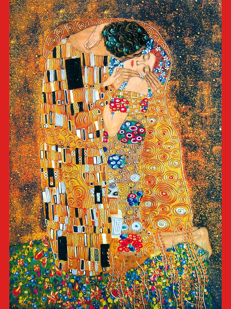 Gustav Klimt - Der Kuss von Selfcontrol
