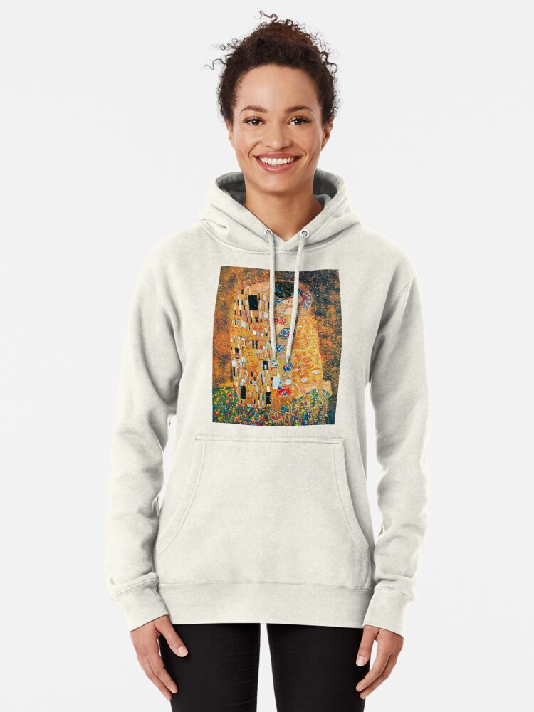 Alternative Ansicht von Gustav Klimt - Der Kuss Hoodie