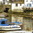 Polperro Harbour, Cornwall. England by hanspeder