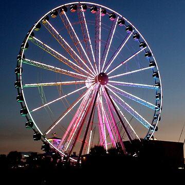 Summertime Ferris Wheel by sh-it