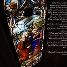 Mary, Stained Glass window, Chapel at Quinta da Regaleira by Wayne Cook