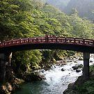 Shinkyo Bridge, Nikko, Japan by Jennifer Chan