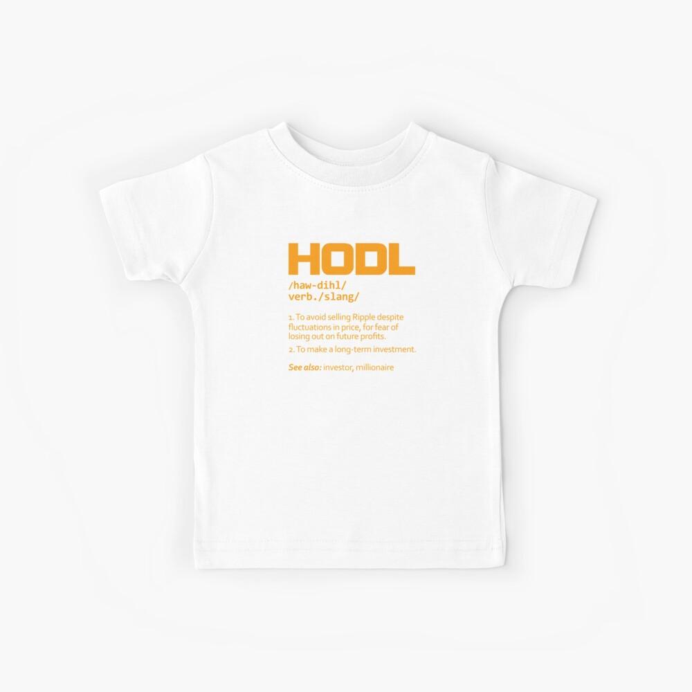 HODL Welligkeit Kinder T-Shirt