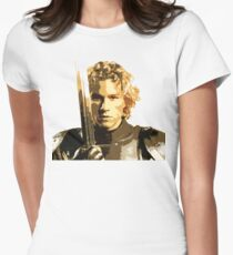 A knight's Tale Heath Ledger Women's Fitted T-Shirt