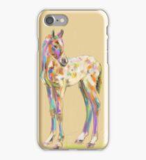 Foal paint iPhone Case/Skin