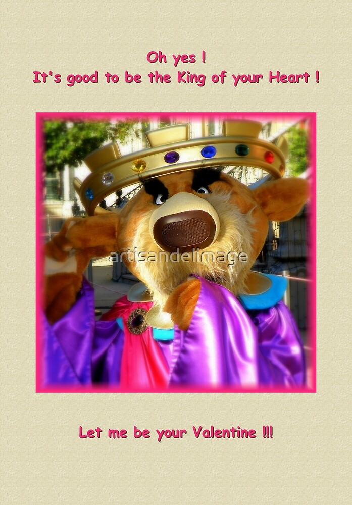 King Of Your Heart by artisandelimage