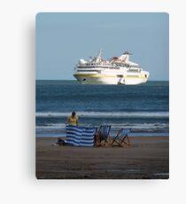 Cruise Liner Vistamar Canvas Print