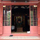 Prayer at Awashima Hall by Jennifer Chan