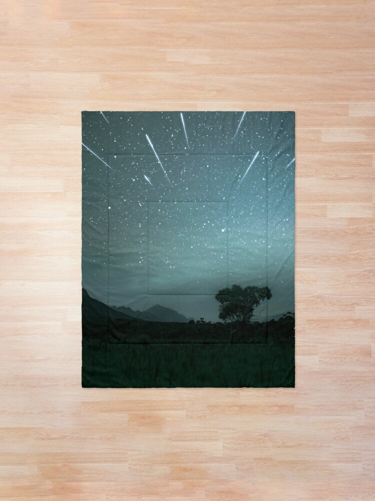 Alternate view of Geminid Meteor Shower - Grampians Comforter