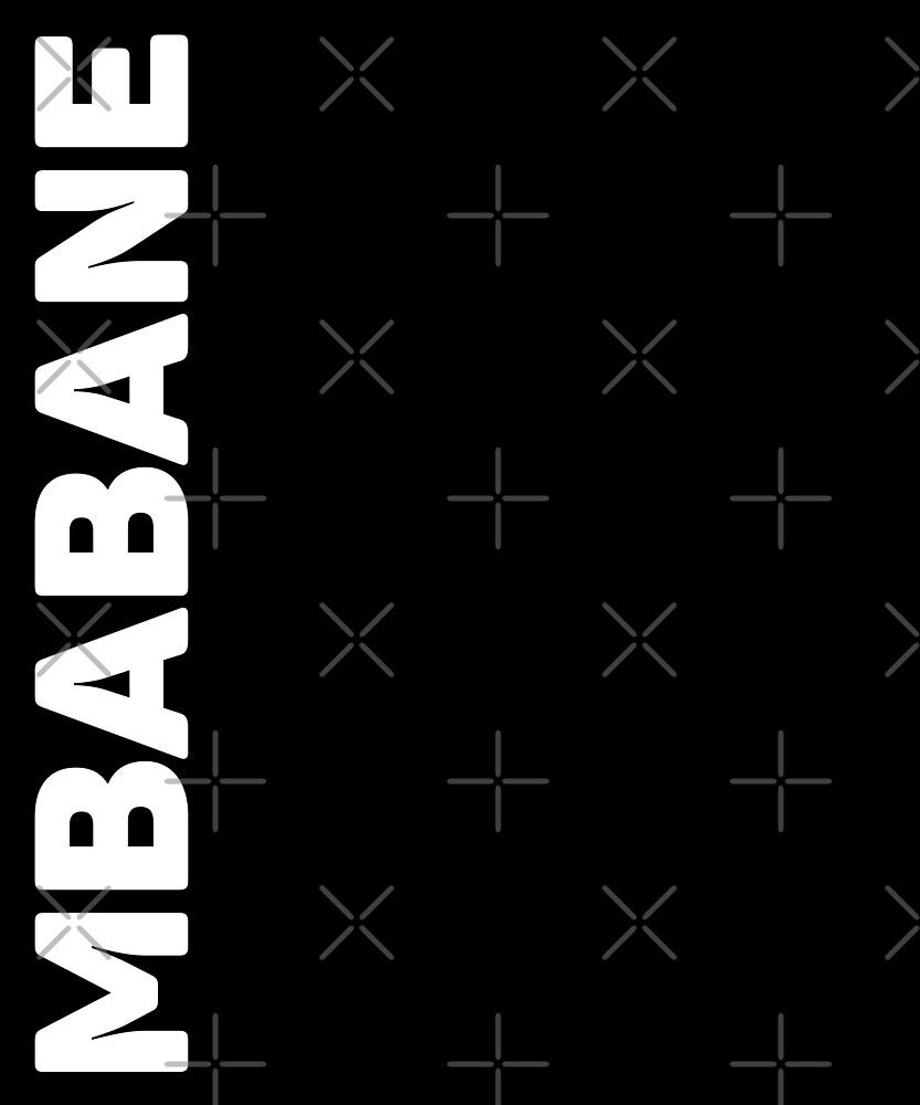 Mbabane T-Shirt by designkitsch