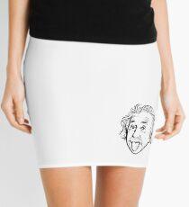 Minifalda Ilustraciones de Albert Einstein Con su famosa foto que muestra la lengua, camisetas, impresiones, pósters, bolsos