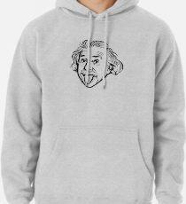 Sudadera con capucha Ilustraciones de Albert Einstein Con su famosa foto que muestra la lengua, camisetas, impresiones, pósters, bolsos