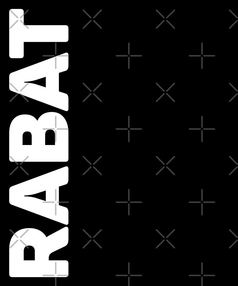 Rabat T-Shirt by designkitsch
