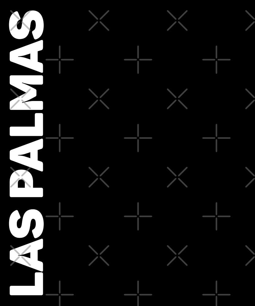Las Palmas T-Shirt by designkitsch