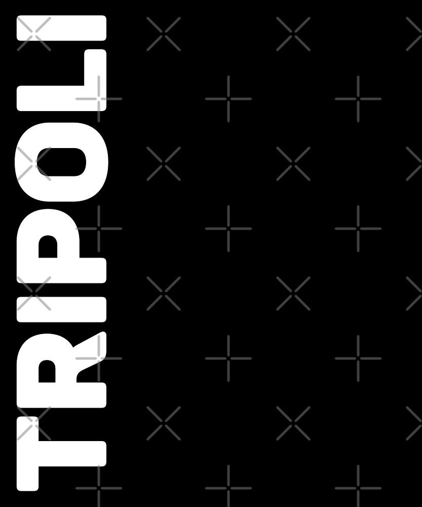 Tripoli T-Shirt by designkitsch