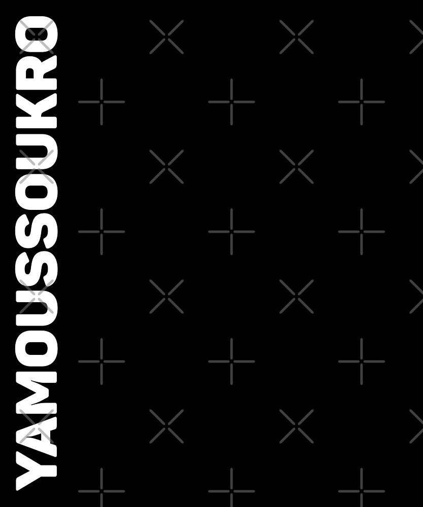 Yamoussoukro T-Shirt by designkitsch