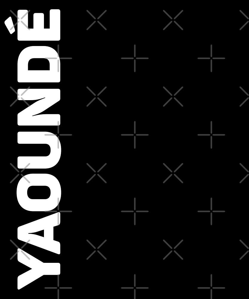 Yaounde T-Shirt by designkitsch