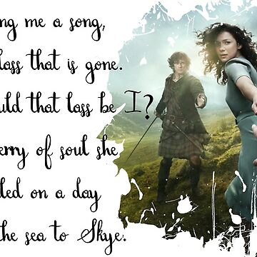 Sing me a song - Outlander by MelArt90
