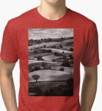 Devonshire Hillside Tri-blend T-Shirt