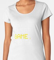 Eat Sleep Game Repeat Women's Premium T-Shirt
