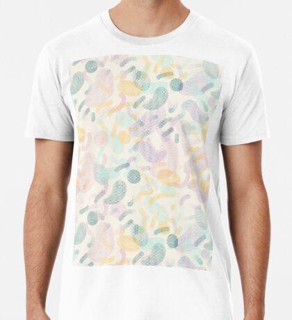 Dotted Blobs #redbubble #abstractart Premium T-Shirt