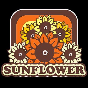 Sunflower gardener by GeschenkIdee