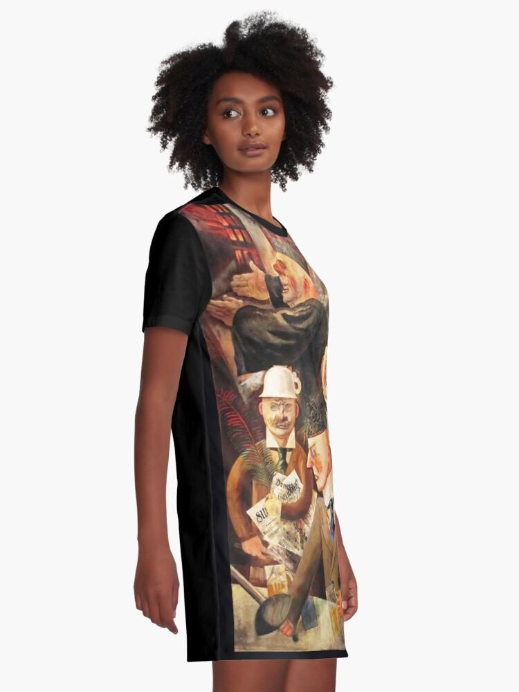 Alternative Ansicht von Säulen der Gesellschaft T-Shirt Kleid