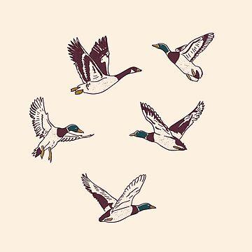 Duck, Duck, Goose by bresquilla