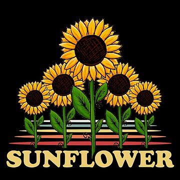 Sunflower birds by GeschenkIdee