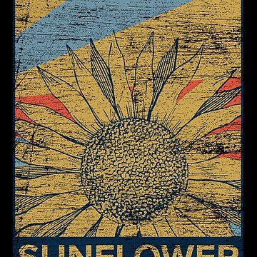 Sunflower decoration by GeschenkIdee